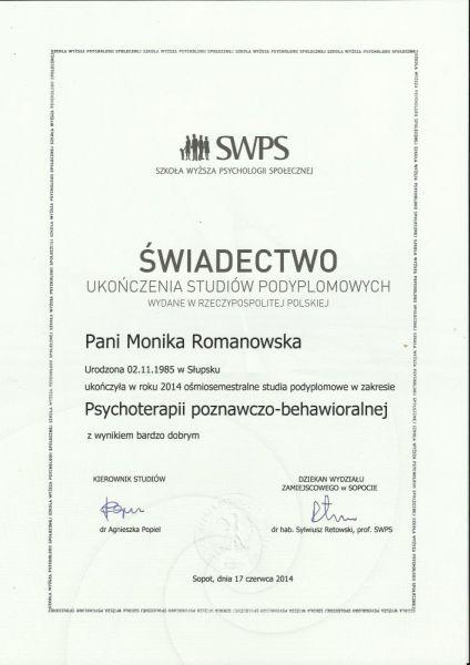 wiadectwoSWPS1